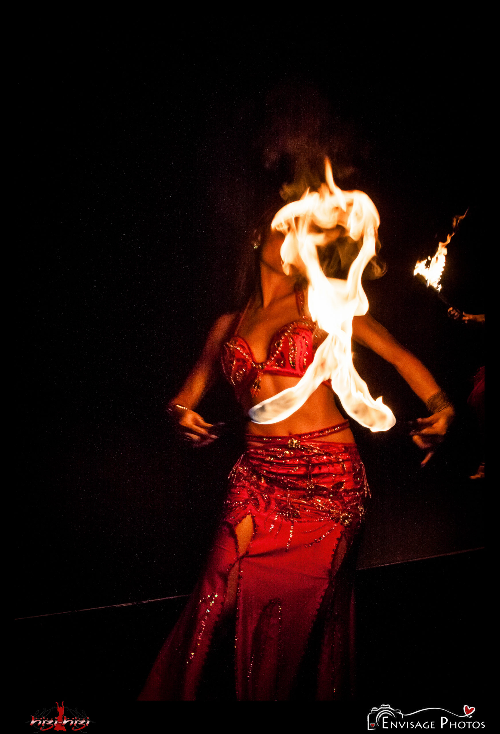 Hizi-Hizi Belly Dance Julia Fire