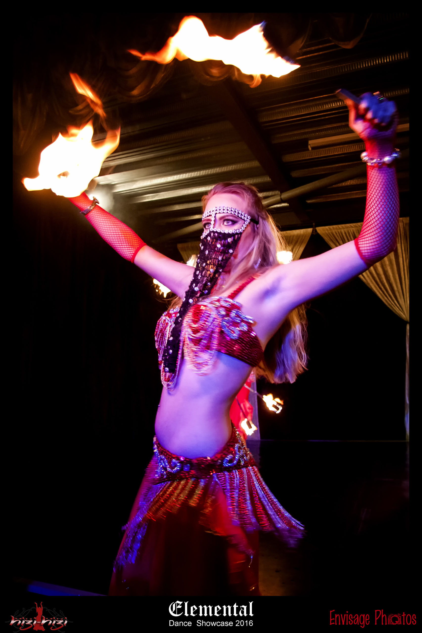 Hizi-Hizi Belly Dance Roxy Fire